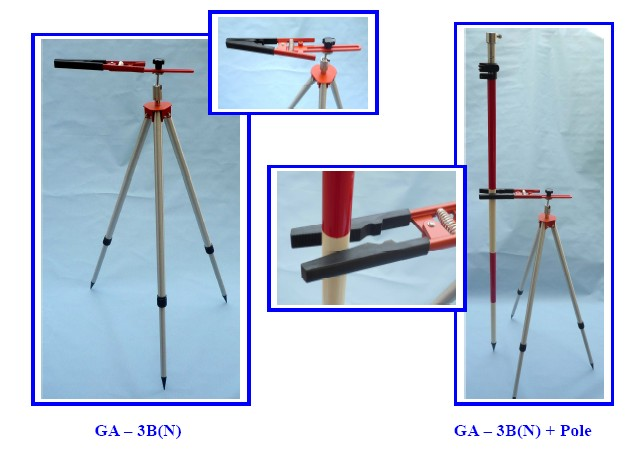 GA-3B(II) /GA-3S Tripods for poles