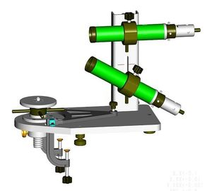 Small Auto Level Suvey And Construction Instrument / Portable Collimator for Autolevel and Theodolite