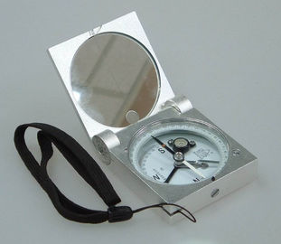 Cina Silver Color Survey Instruments' Accessories Geology Metal Handheld Compass pabrik